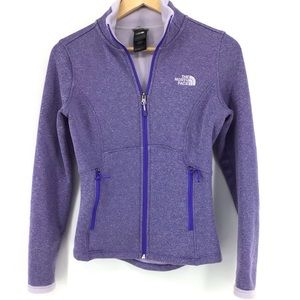 The North Face Agave Purple Full Zip Jacket
